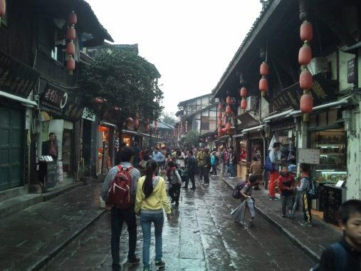 Ciqikou kvartalas Chongqinge