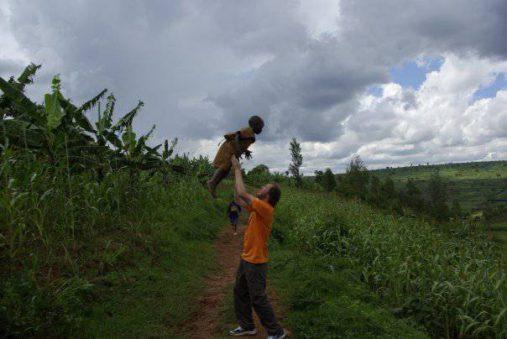 Dainius Kinderis Afrikoje