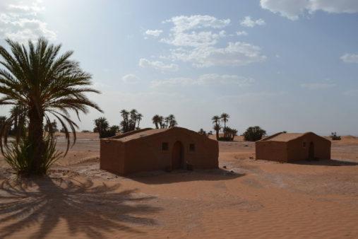 Stovykla dykumoje