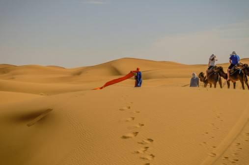 Merzouga, Sacharos dykuma