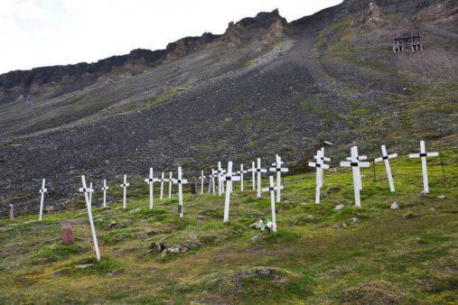 Kapinės Špicbergene