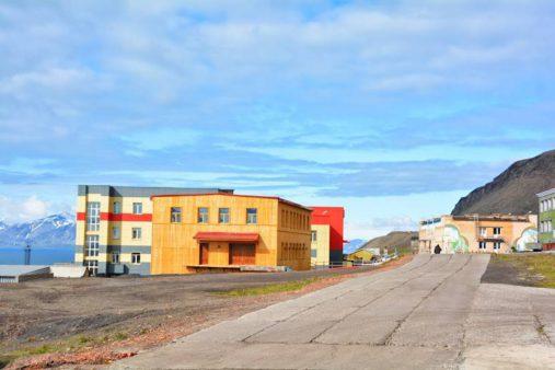 Barentsburgo centras