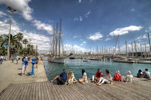 Barselonos uostas, kelionė į Barseloną
