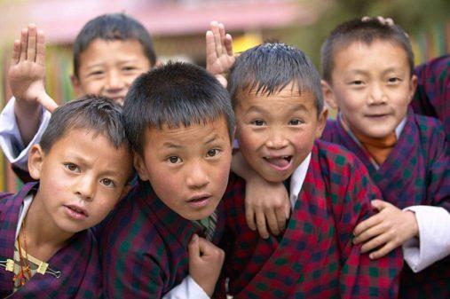 Butano vaikai