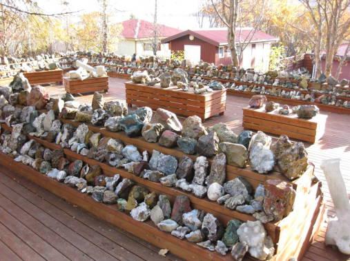 mineralų muziejus Islandija