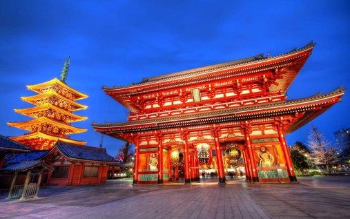 Asakusa šventykla